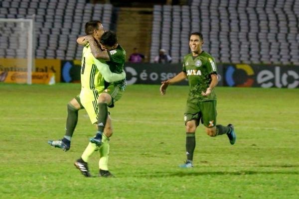 Parnahyba foi eliminado da Copa do Brasil após empate por 1 a 1 com o Coritiba