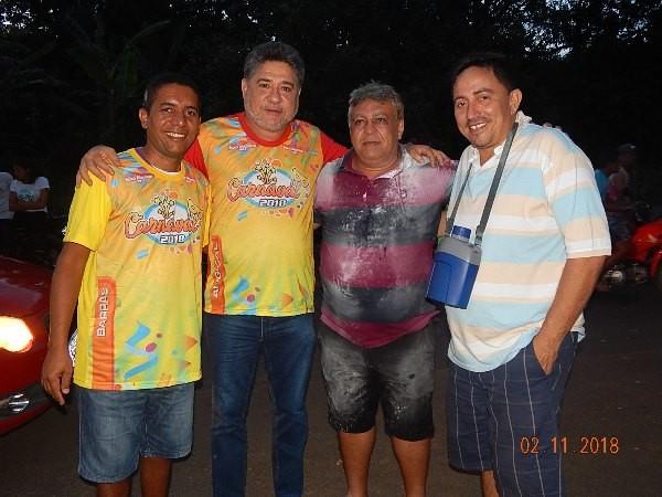 Deputado João Madson prestigia carnaval em Agricolândia
