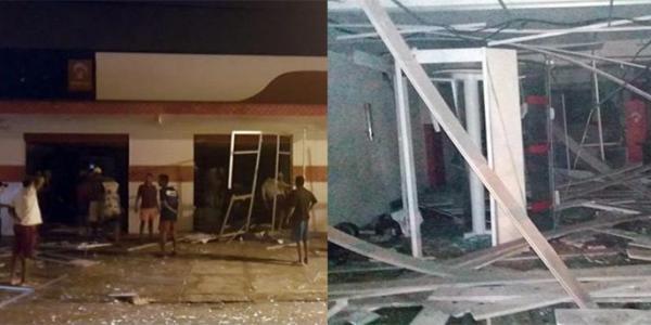 Agência do Bradesco de Castelo do Piauí é alvo de explosão criminosa