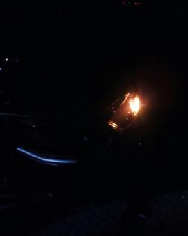 Acidente na Estaca Zero deixa uma pessoa morta no entroncamento da BR