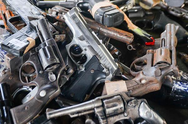 No PI, mais de 500 armas foram apreendidas pela polícia desde 2017