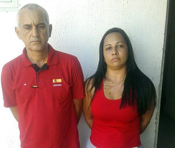 Casal cearense é preso flagrado aplicando golpes em agências bancárias em Água Branca