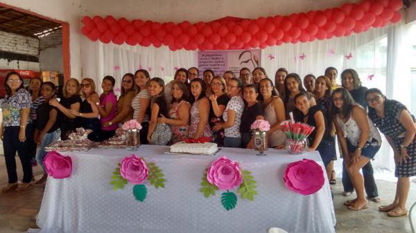 Secretária de saúde comemora o Dia da Mulher com almoço oferecido as funcionárias em Hugo Napoleão PI