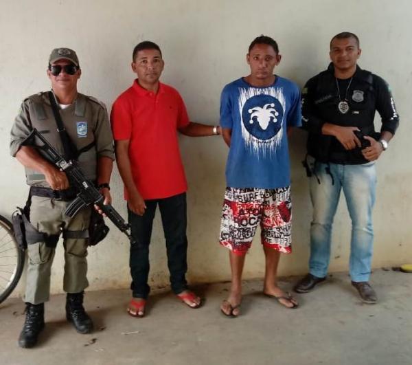 Homem é preso suspeito de estupro de vulnerável na cidade de São Gonçalo do Piauí