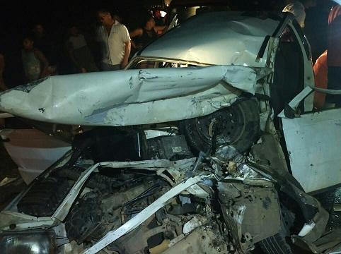 Grave acidente  na BR 316 entre carro e caminhão deixa cinco feridos
