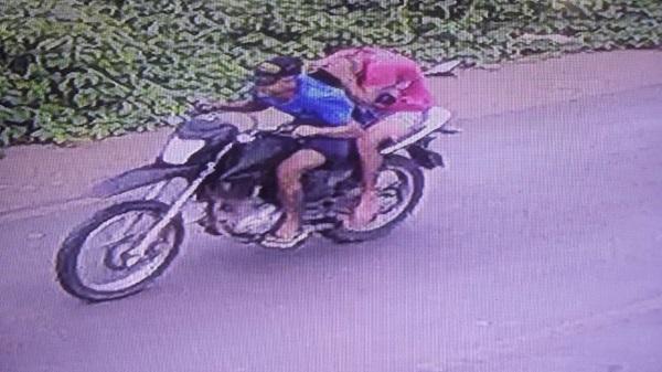 PM divulga imagens de suspeitos de assalto a mercadinho em Agricolândia