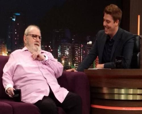 Fora da Globo, Jô Soares participa de Programa do Porchat