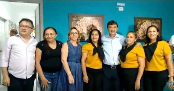 Inauguração do CRAS Centro de Referência da Assitência Social